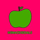 Healthy Snack Goals - Apple by denisethorn