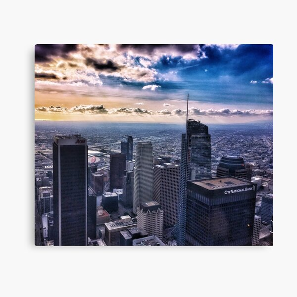 Downtown Los Angeles 1/1/17 #8 Canvas Print