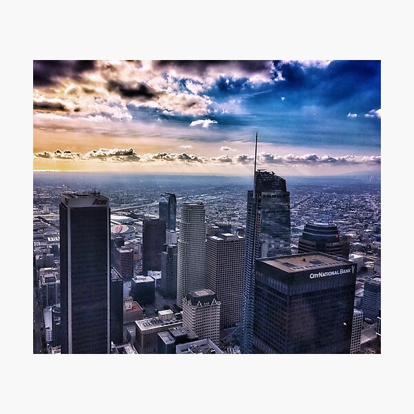 Downtown Los Angeles 1/1/17 #8 Photographic Print