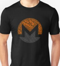 Monero XMR Revolution Block Chain CryptoNote Word  Unisex T-Shirt