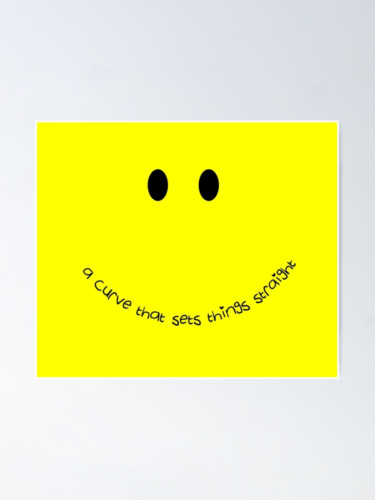 Alternate view of Curvy Smile Poster