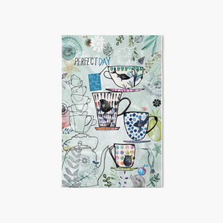 Time4Tea - Perfect day! Art Board Print