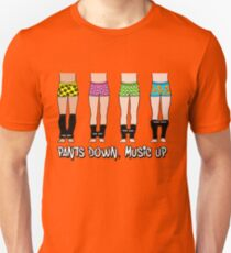Pants Down, Music Up Unisex T-Shirt
