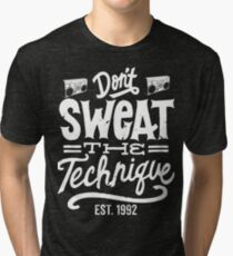 Eric B. & Rakim Tribute - Old School Hip Hop Tri-blend T-Shirt