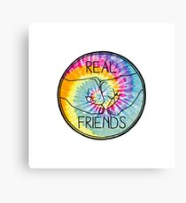 Real Friends Canvas Print