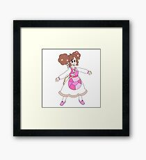 Baking Bee Framed Print