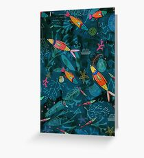 Reef Fish Greeting Card