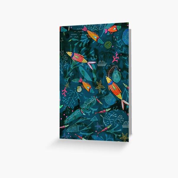Reef Fish Greeting Card
