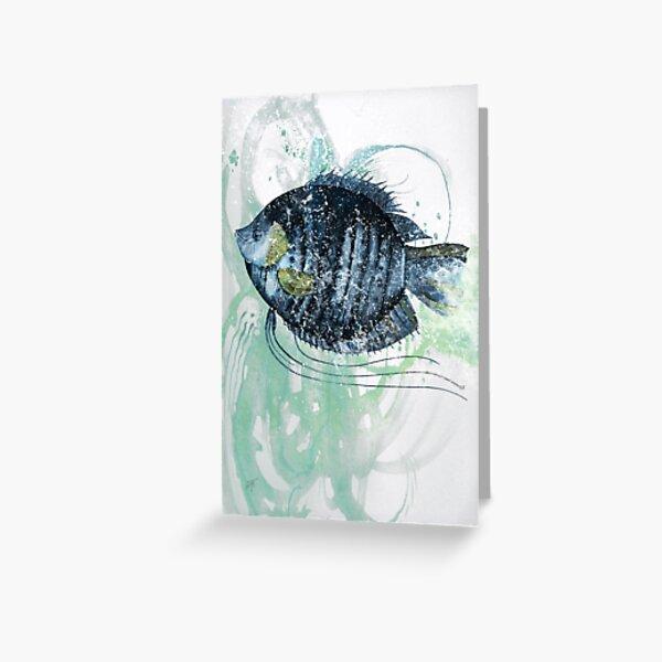 Sun Fish Greeting Card