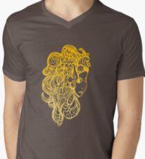 Girl Men's V-Neck T-Shirt