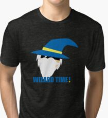 WIZARD TIME! Tri-blend T-Shirt