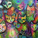 Magical cats by Karin Zeller
