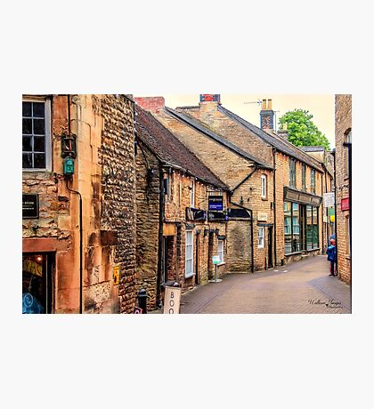 Downtown In The Cotswolds Photographic Print
