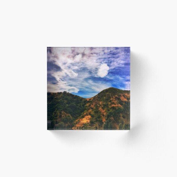 Hollywood Reservoir 4/27/17 #1 Acrylic Block