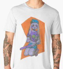 Purple Bun Men's Premium T-Shirt