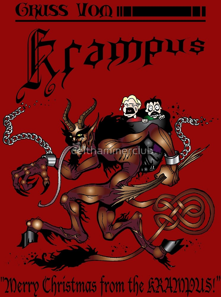 Merry Krampus! by celthammerclub
