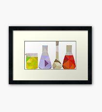 Glasswear Framed Print