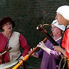 Medieval Female Musicians  by patjila