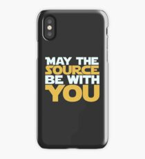 May The Source Be With You iPhone Case