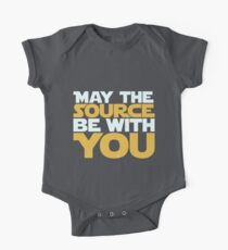 May The Source Be With You One Piece - Short Sleeve