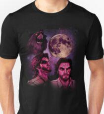 Three Bigby Wolf Moon Unisex T-Shirt