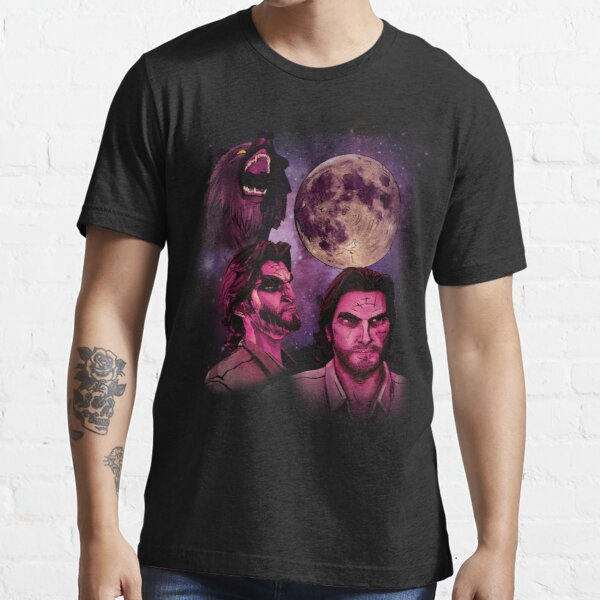 Three Bigby Wolf Moon Essential T-Shirt