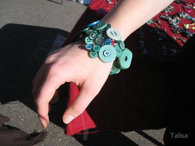 Button Bracelet 1 by Talisa
