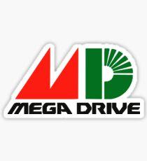 Sega Mega Drive logo Sticker
