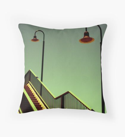 Street2 Throw Pillow