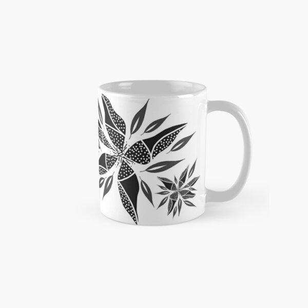 Trafello Flower - White Classic Mug