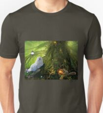 Snowdrop the Maltese  & Harry the Squirrel Unisex T-Shirt