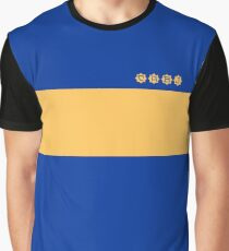 Boca Juniors 1981 Home Shirt Graphic T-Shirt
