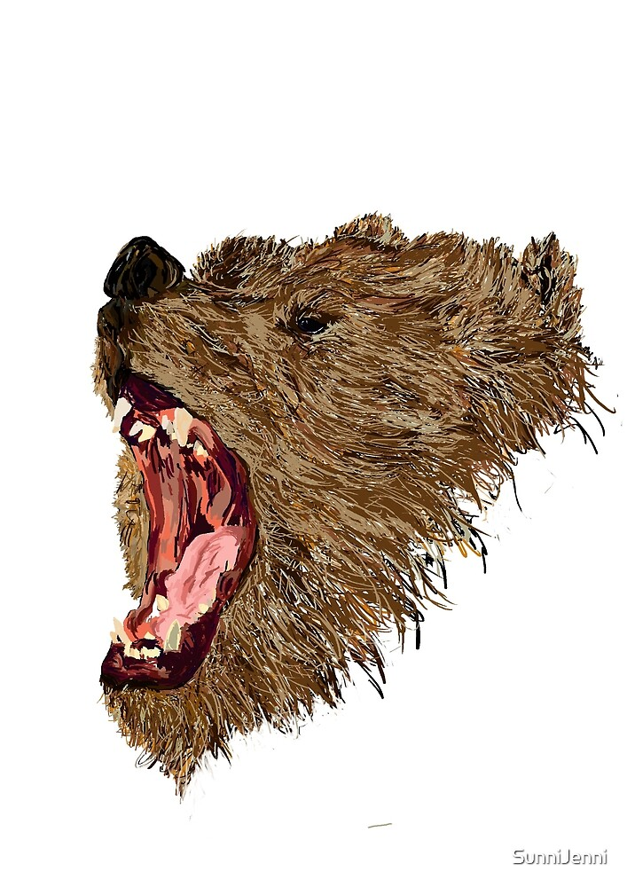 Roary Bear by SunniJenni