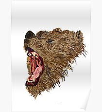 Roary Bear Poster