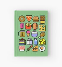 8 bit Foodie v2 Hardcover Journal