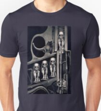 Giger Birth Machine T-shirt Unisex T-Shirt