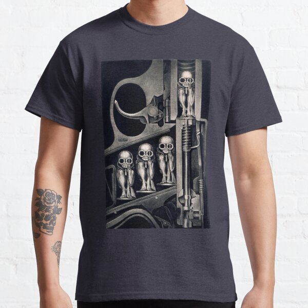 Giger Birth Machine T-shirt Classic T-Shirt