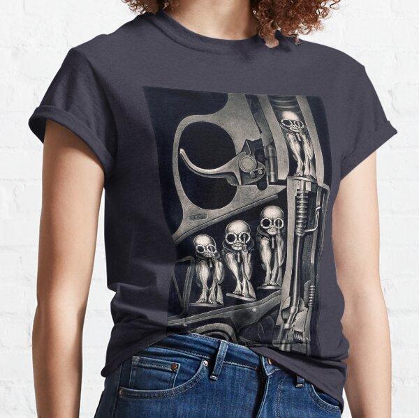 Camiseta de la máquina de nacimiento Camiseta clásica