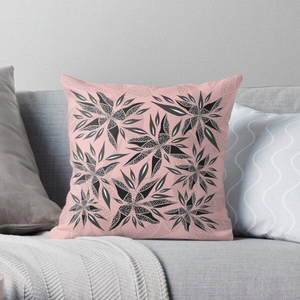 Trafello Flower - Pink Throw Pillow