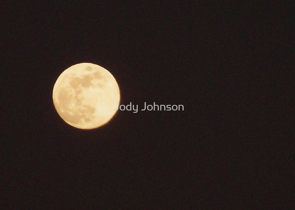 Full moon by Jody Johnson