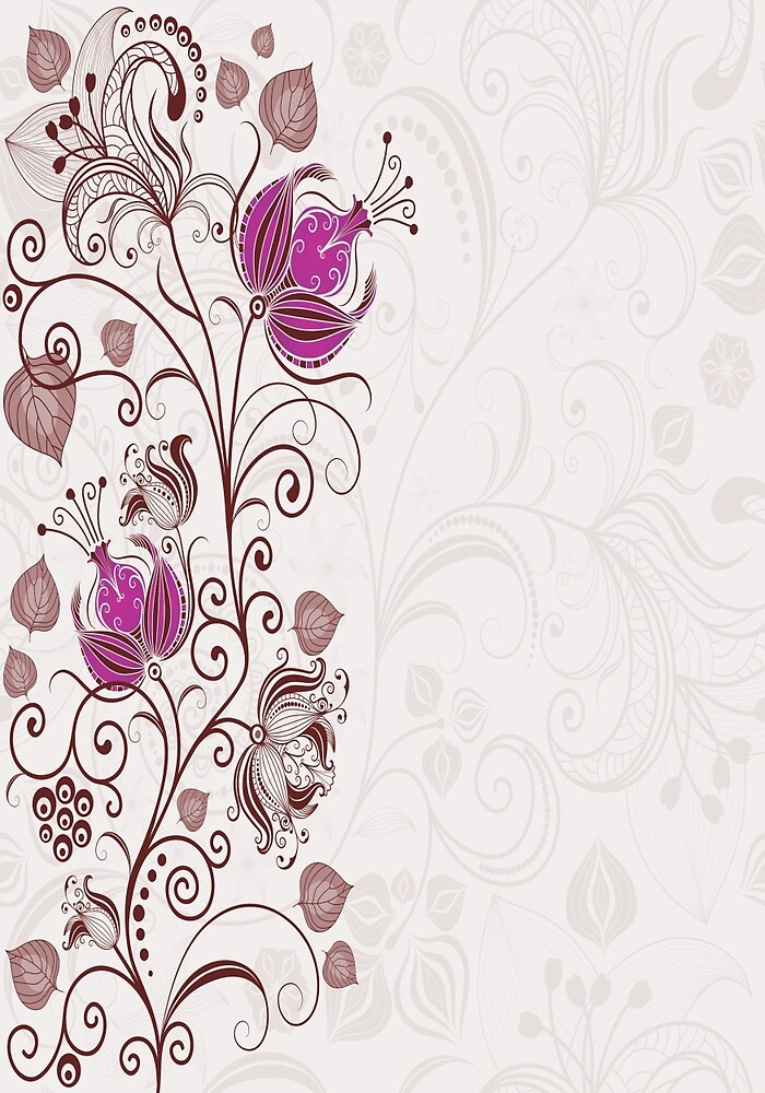 floral pattern by afet