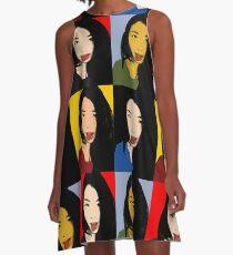 FUNNY GIRL! - POP ART 4 A-Line Dress