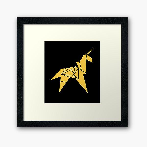 Blade Runner - Unicorn Framed Art Print
