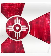 Wichita Flag - I of X Poster