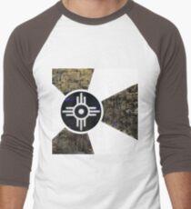 Wichita Flag III of X Men's Baseball ¾ T-Shirt