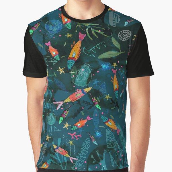 Amazing Reef Fish Graphic T-Shirt