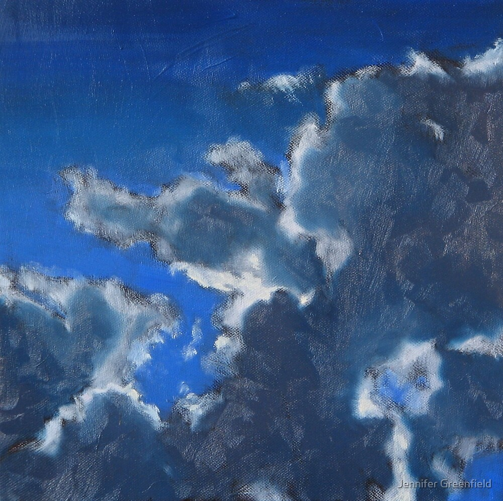 SOLD- Partly Cloudy by Jennifer Greenfield