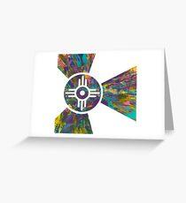 Wichita Flag - VI of X Greeting Card