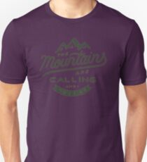 The Mountains Unisex T-Shirt