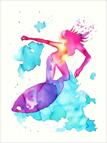Surfer Girl by balgrittella